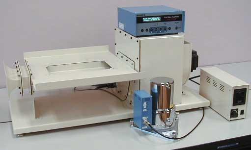 放熱実験用風洞装置